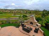Rarely available La Costa Greens home with million dollar La Costa Golf Course views!!  Very private home with tons of upgrades.